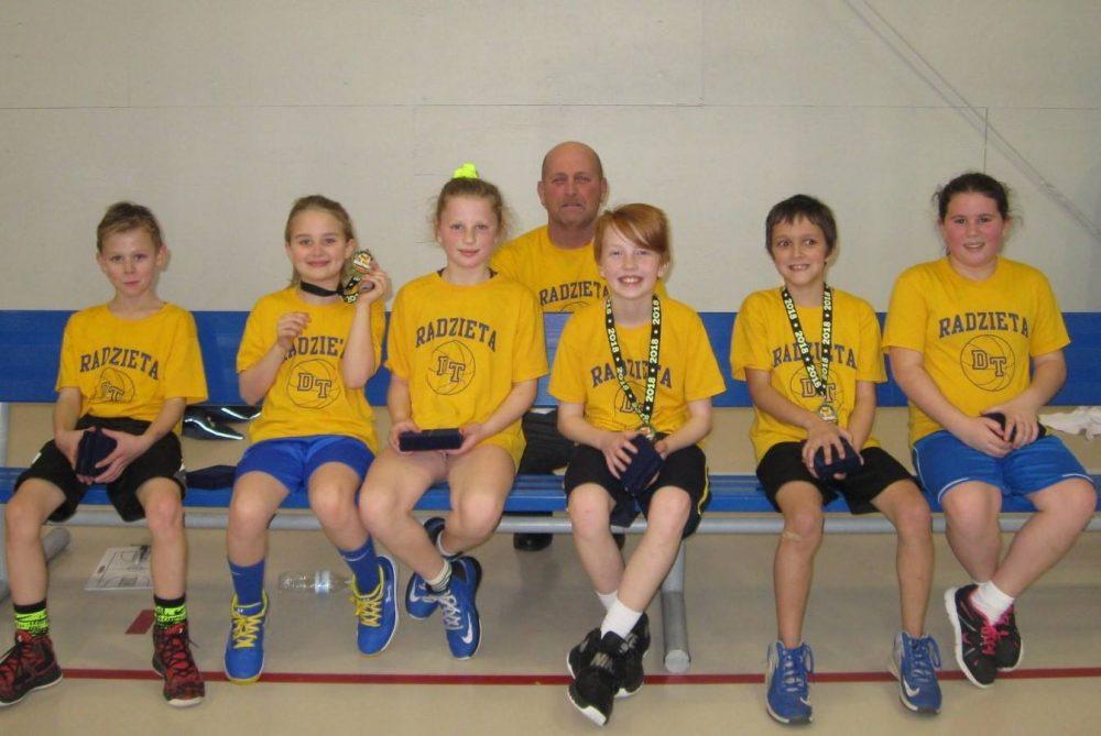 Radzieta basketball team