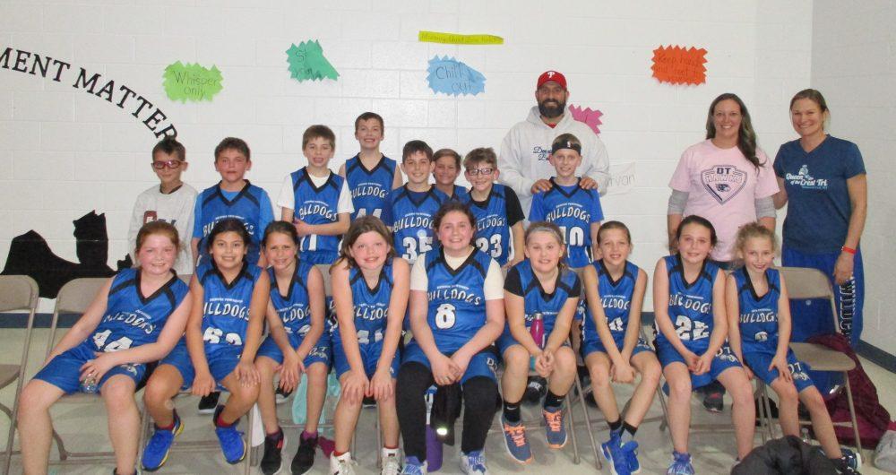 Bulldogs basketball team