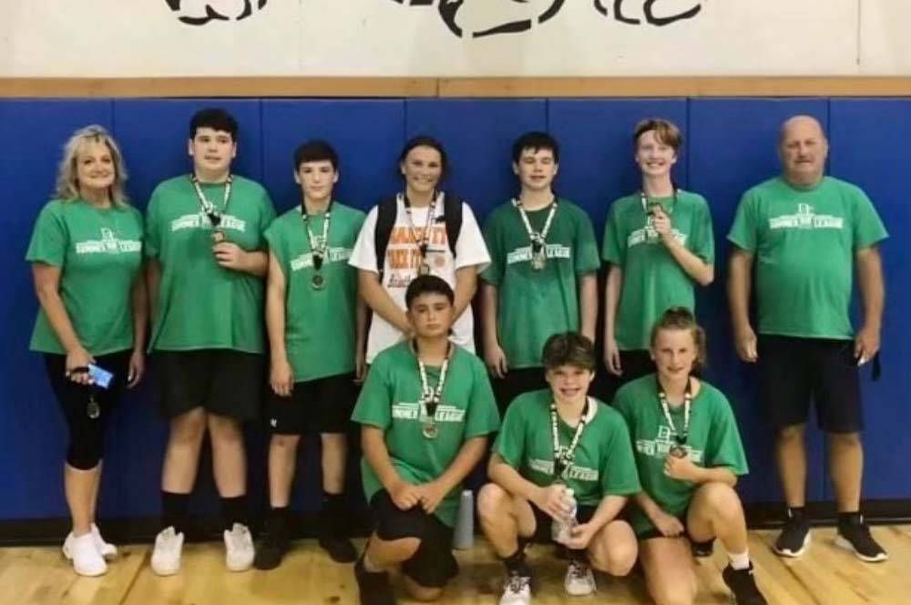 Summer Basketball League 7TH/8TH/9TH Grade Division Champs